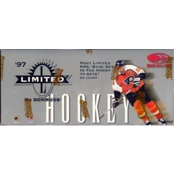 1997/98 Donruss Limited Hockey Hobby Box