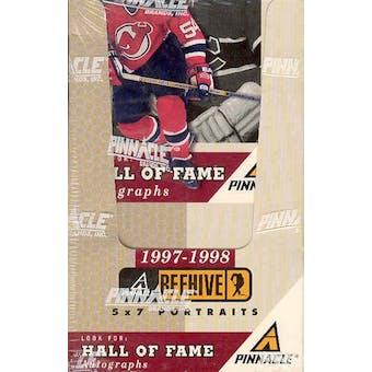 1997/98 Pinnacle Beehive Hockey Hobby Box