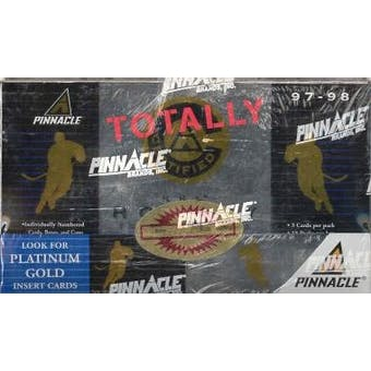 1997/98 Pinnacle Totally Certified Hockey Hobby Box