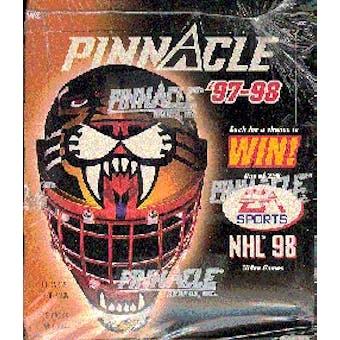 1997/98 Pinnacle Hockey Hobby Box