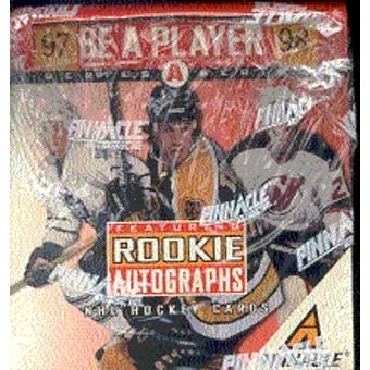 1997/98 Pinnacle Be A Player Series A Hockey Hobby Box