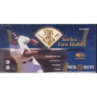 1997 Leaf Series 2 Baseball Hobby Box
