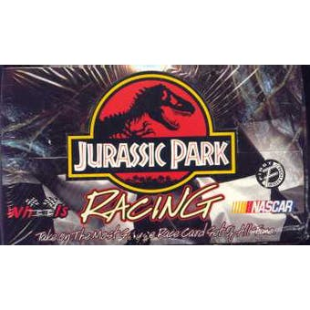 1997 Press Pass Wheels Jurassic Park 1st Edition Racing Hobby Box