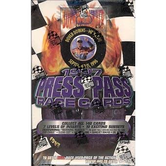 1997 Press Pass Racing Hobby Box
