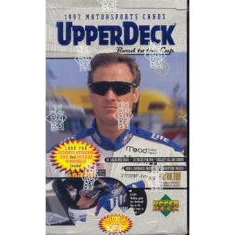 1997 Upper Deck Road To The Cup Racing Hobby Box
