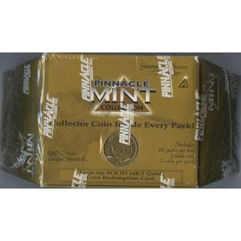 1997 Pinnacle Mint Baseball Hobby Box