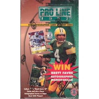 1997 Pro Line Football Hobby Box