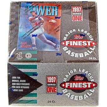 1997 Topps Finest Series 1 Baseball Hobby Box