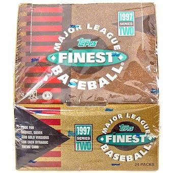 1997 Topps Finest Series 2 Baseball Hobby Box