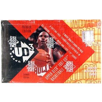 1996/97 Upper Deck UD3 Basketball Hobby Box