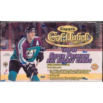 1998/99 Topps Gold Label Hockey Hobby Box