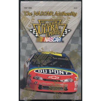 1997 Fleer Ultra Update Racing Hobby Box