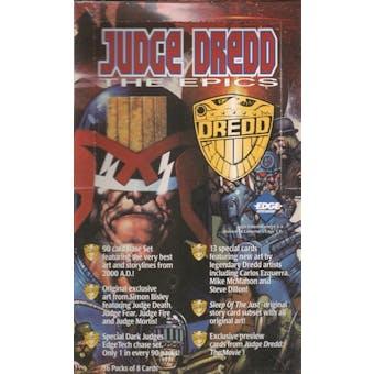 Judge Dredd The Epics Hobby Box (1995 Collector's Edge)