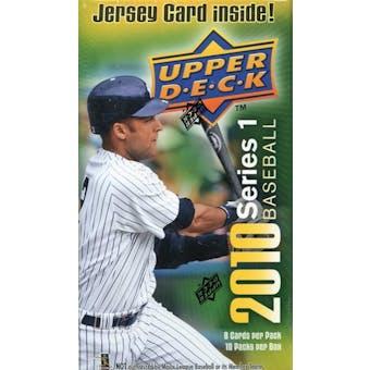 2010 Upper Deck Baseball 10-Pack Box