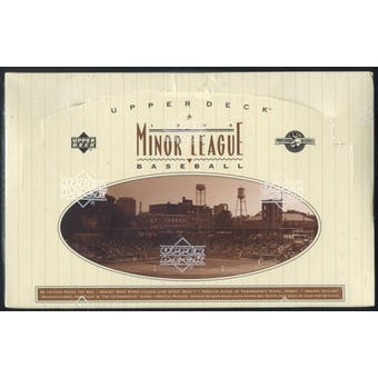 1995 Upper Deck Minor League Baseball Hobby Box