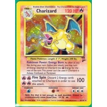 Pokemon Base Set 2 Single Charizard 4/130 SLIGHT PLAY