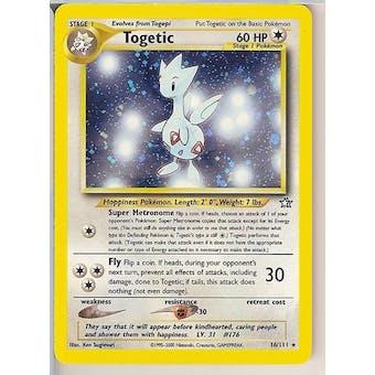 Pokemon Neo Genesis Single Togetic 16/111