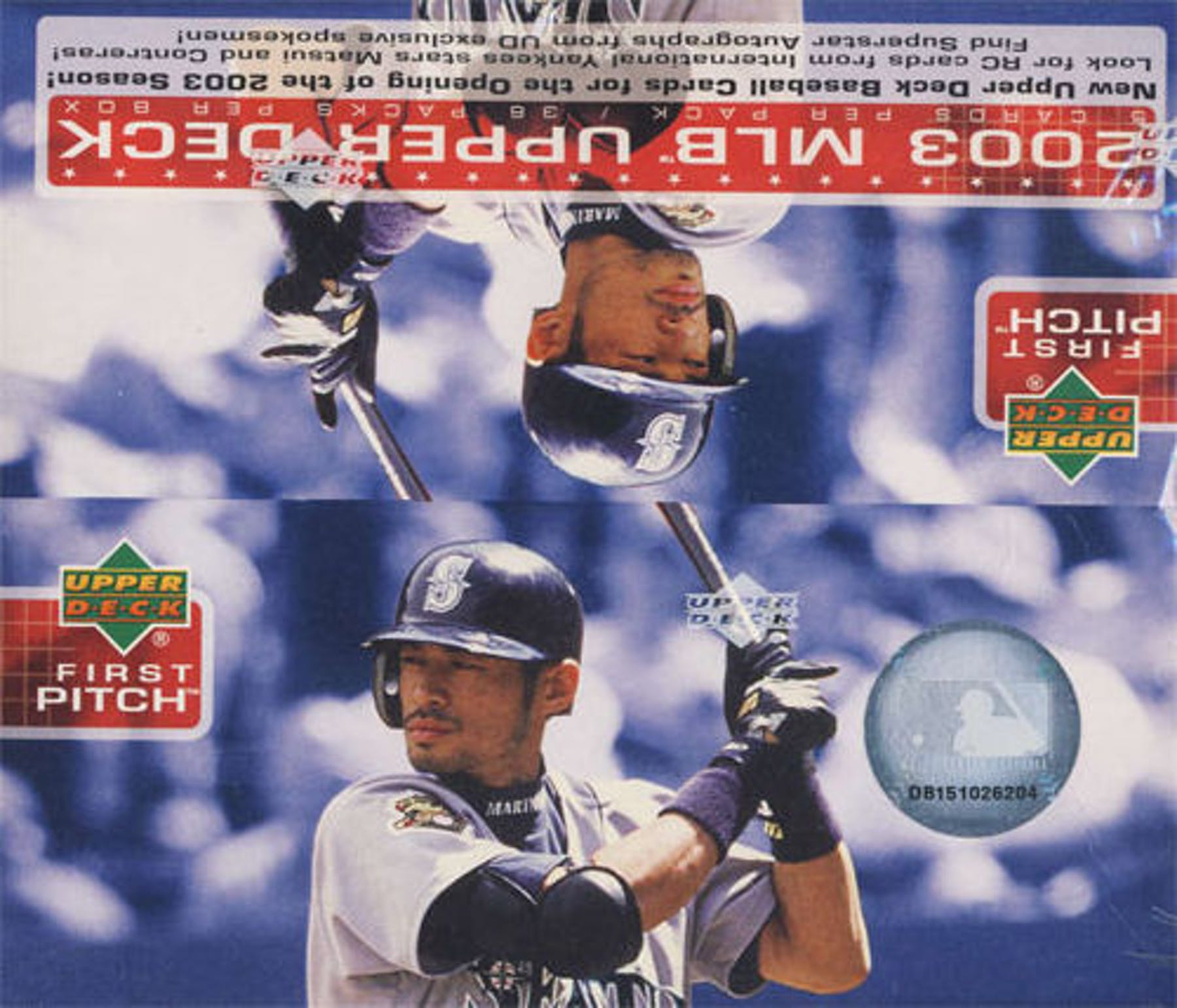 2003 Upper Deck First Pitch Baseball Box Da Card World