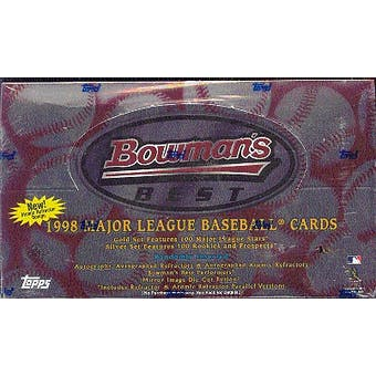 1998 Bowman's Best Baseball Hobby Box