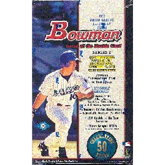 1998 Bowman Series 2 Baseball Hobby Box