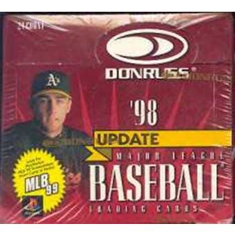 1998 Donruss Update Baseball Box