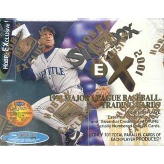 1998 Fleer Skybox E-X 2001 Baseball Hobby Box