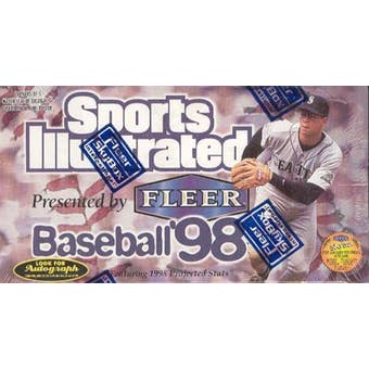 1998 Fleer Sports Illustrated Baseball Hobby Box