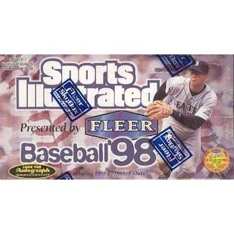 1998 Fleer Sports Illustrated Baseball Hobby Box