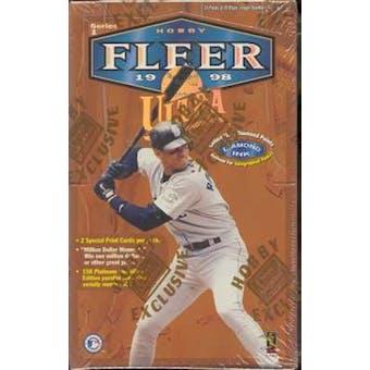 1998 Fleer Ultra Series 1 Baseball Hobby Box
