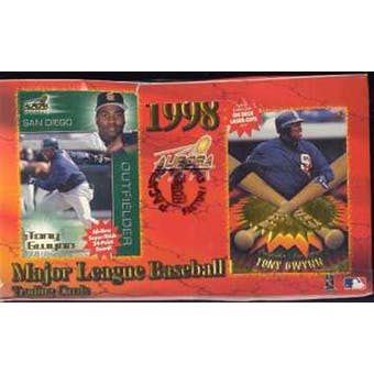 1998 Pacific Aurora Baseball Hobby Box