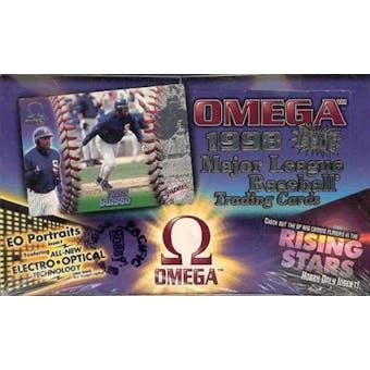 1998 Pacific Omega Baseball Hobby Box