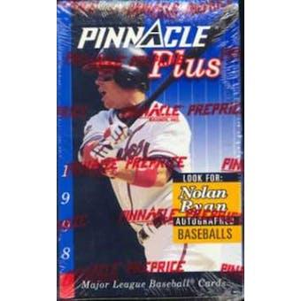 1998 Pinnacle Plus Baseball Hobby Box