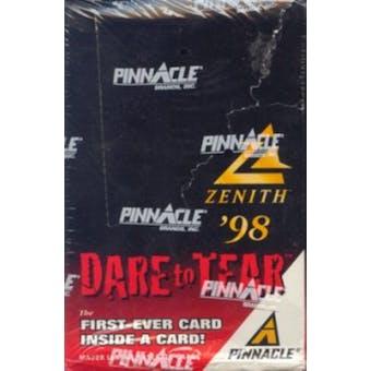 1998 Pinnacle Zenith Baseball Hobby Box