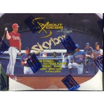 1998 Skybox Dugout Axcess Baseball Hobby Box