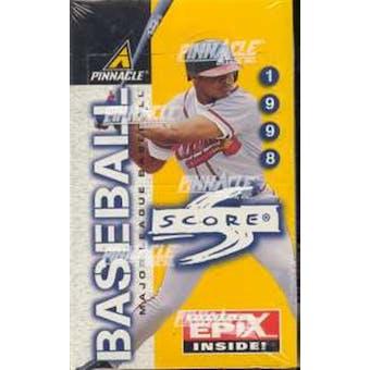 1998 Score Baseball Hobby Box
