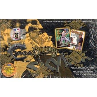 1998 Skybox Circa Thunder Baseball Hobby Box