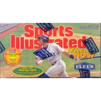 1998 Fleer Sports Illustrated Then & Now Baseball Hobby Box