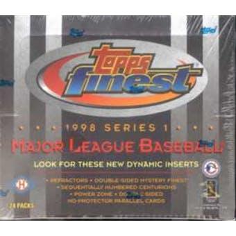 1998 Topps Finest Series 1 Baseball Hobby Box