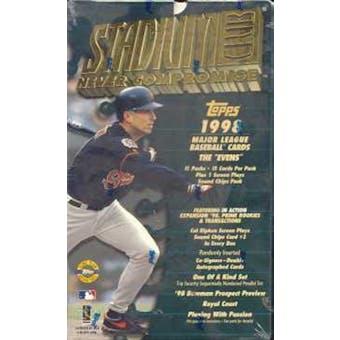 1998 Topps Stadium Club Series 2 Baseball Jumbo Box