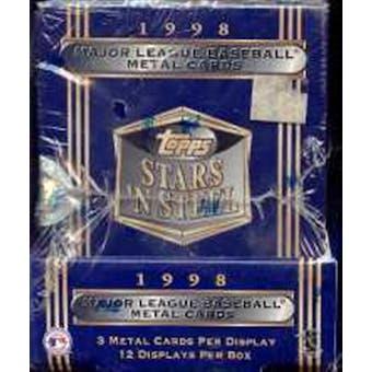 1998 Topps Stars 'N Steel Baseball Hobby Box