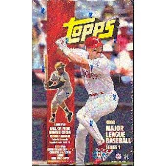 1998 Topps Series 1 Baseball Hobby Box
