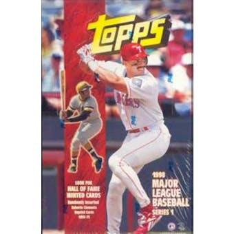 1998 Topps Series 1 Baseball 36 Pack Box