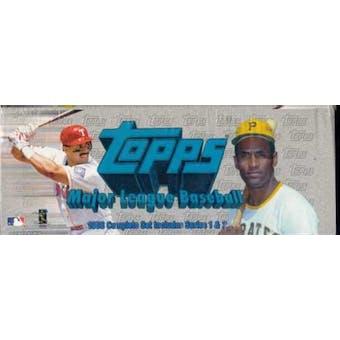 1998 Topps Baseball Retail Factory Set (White)