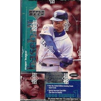 1998 Upper Deck Series 1 Baseball Hobby Box