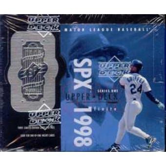 1998 Upper Deck SPx Finite Series 1 Baseball Hobby Box