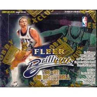 1998/99 Fleer Brilliants Basketball Hobby Box