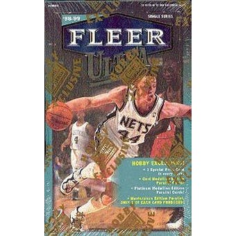 1998/99 Fleer Ultra Basketball Hobby Box