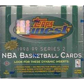 1998/99 Topps Finest Series 2 Basketball Hobby Box