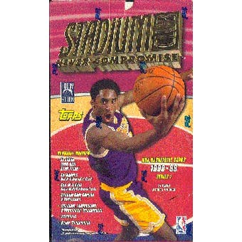 1998/99 Topps Stadium Club Series 1 Basketball Hobby Box