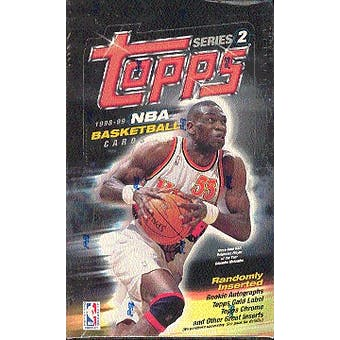 1998/99 Topps Series 2 Basketball Hobby Box